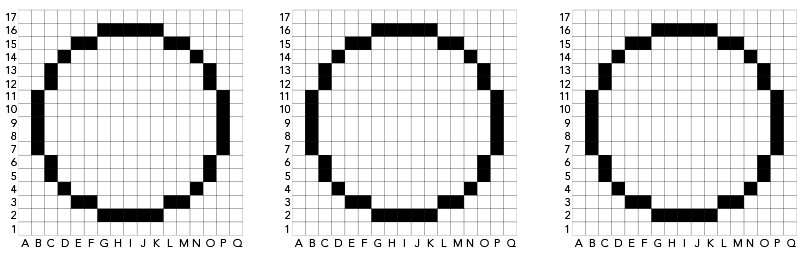 Grid for drawing robot