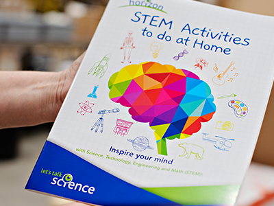 horizon activity book cover