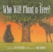 Cover of Who Will Plant a Tree? by Jerry Pallotta