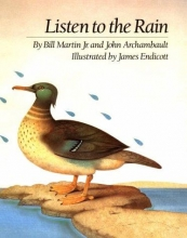 Cover of Listen to the Rain by Bill Martin Jr.