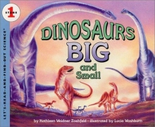 Cover of Dinosaurs Big and Small by Kathleen Weidner Zoehfel