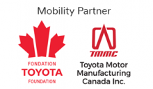 Toyota Foundation. Toyota Motor Manufacturing Canada Inc. Mobility Partner.