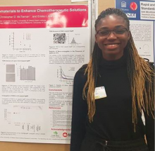 Mary Omole at Poster Presentation