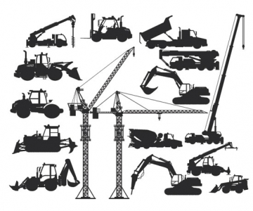Construction vehicles use hydraulics. Image © Djahan, iStockPhoto.com