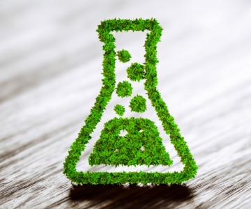 Green chemistry industry icon