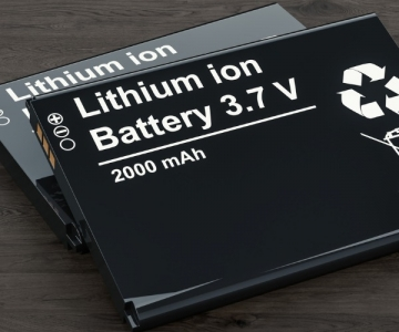 3.7 V lithium-ion battery