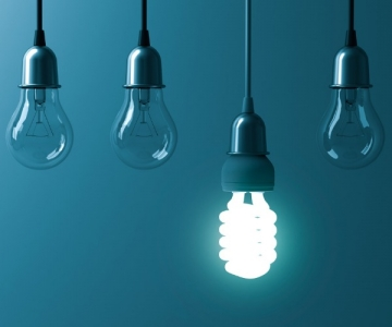 Energy-saving light bulbs are a great way to save money at home