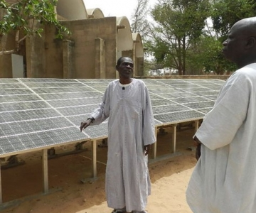 Solar panel project in Dakar, Senegal