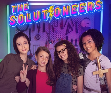 The cast of the Solutioneers