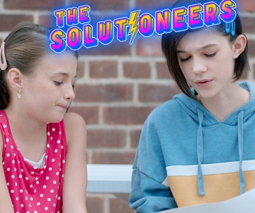 Screen shot from The Solutioneers Episode 9