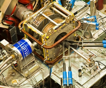 Beamline Assembly at TRIUMF