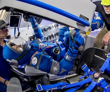 Testing of the Boeing Starliner spacesuit