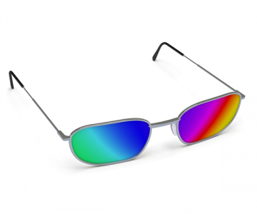 Colourful sunglasses