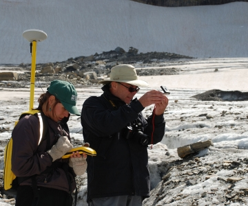 Measuring Changes To A Glacier