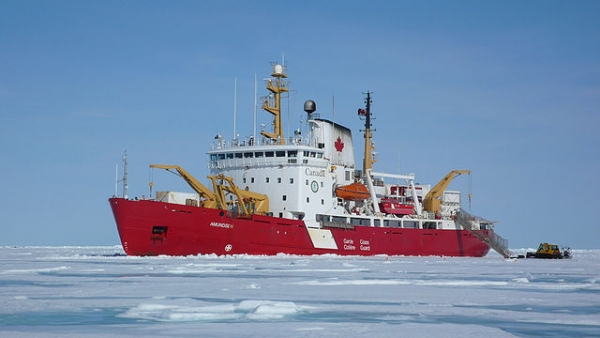 CCGS Amundsen  is a Pierre Radisson-class icebreaker and Arctic research vessel operated by the Canadian Coast Guard