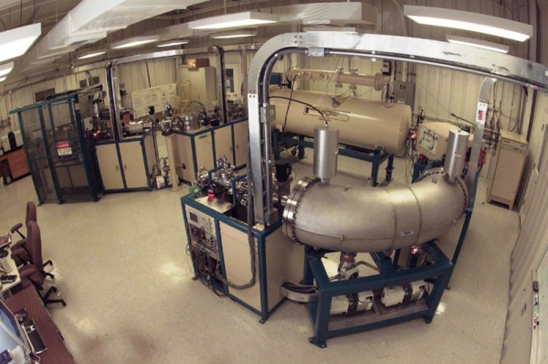 Accelerator mass spectrometer at Lawrence Livermore National Laboratory in California
