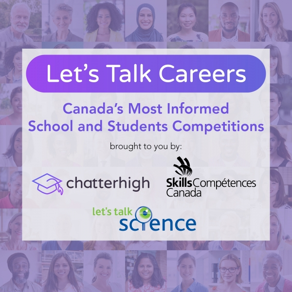 Let's Talk Careers: Canada's Most Informed School and Students Competitions